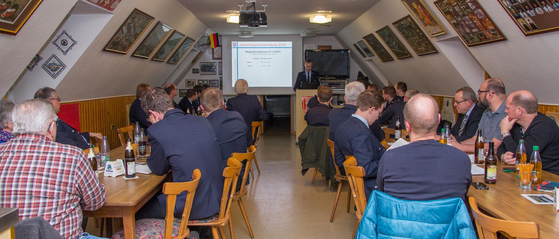 Jahreshauptversammlung 2018 der FF Bischofsgrün